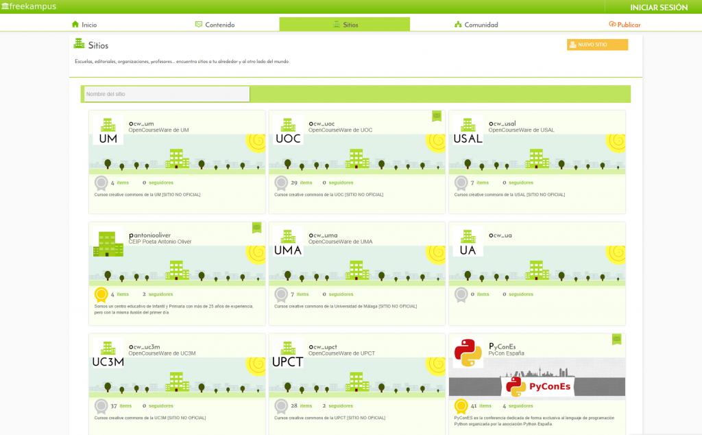 FreeKampus, proyecto para publicar contenidos educativos bajo Creative Commons