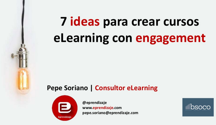 Elearning con engagement